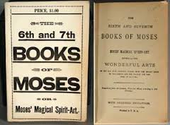 Six and seven books of moses and other spiritual books | http.